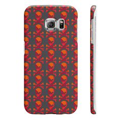 Samsung Galaxy S6 Edge Skull Pattern Cover  #value #quality #phonecases #case #iPhone #Samsung #siliconephonecases #plasticphonecases #leatherwalletphonecases #phonecovercases