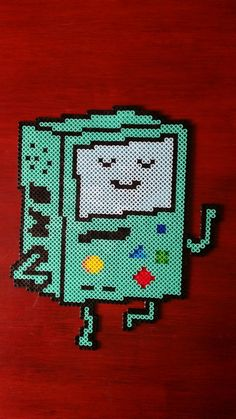 BMO from Adventure Time with perler beads