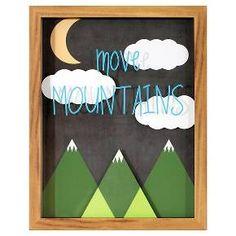 Move Mountains Framed Art - Pillowfort™