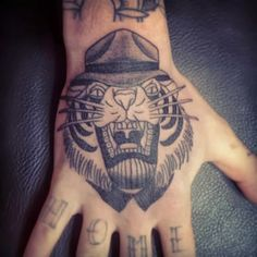 Tattoo - Tigre Old School