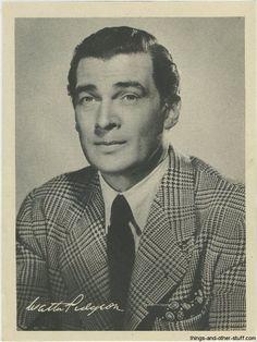 Walter Pidgeon 1946 Motion Picture Magazine Paper Premium Photo, 1 of 20 such premiums.