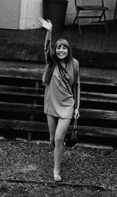 Joni at the Newport Folk Festival - 1967
