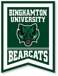 Go green! Show your Binghamton Pride and decorate your room with this awesome banner