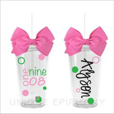Alpha Kappa Alpha Subway Date Tumbler by UniqueEpiphany on Etsy, $15.00