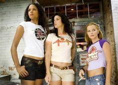 Jungle Julia, Arlene & Shanna from Death Proof. Sydney Poitier Vanessa Ferlito Jordan Ladd
