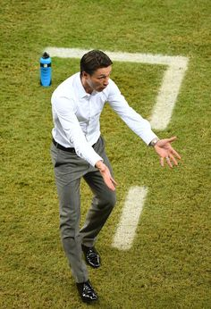 Head coach Niko Kovac of Croatia reacts during the 2014 FIFA World Cup Brazil Group A match between Croatia and Mexico at Arena Pernambuco on June 23, 2014 in Recife, Brazil.