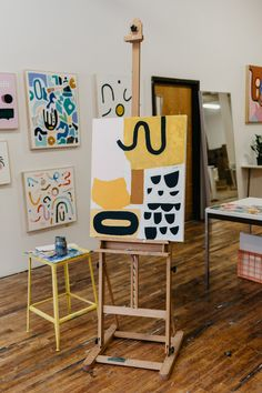 """Explore our site for even more relevant information on """"abstract artists studios"""". It is a superb area to get more information. Painting Inspiration, Art Inspo, Plakat Design, My New Room, Art Studios, Diy Art, Painting & Drawing, Art Drawings, Abstract Drawings"""