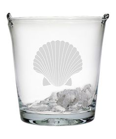 Look what I found on #zulily! Fan Shell Ice Bucket by Susquehanna Glass #zulilyfinds