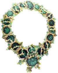 Vintage Tony Duquette Malachite Necklace