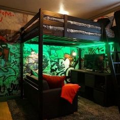 game rooms ideas gaming bedroom ideas the best gaming room setup ideas on gaming. game rooms ideas gaming bedroom ideas the best gaming room setup ideas on gaming rooms gamer room a Diy Bedroom Decor For Teens, Simple Bedroom Decor, Bedroom Setup, Bedroom Ideas, Rustic Games, Game Room Kids, Gaming Room Setup, Gaming Rooms, Video Game Rooms