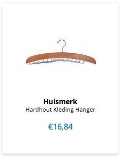 Hardhout Kleding Hanger € 16,84 www.ovstore.nl/nl/search/stropdas/