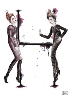 Illustration.Files: The A-Z of Fashion (Part 2)