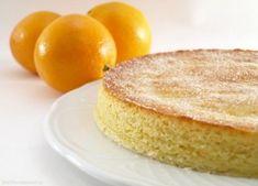 Bizcocho de naranja, en el microondas - MisThermorecetas.com
