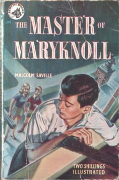 The Master of Maryknoll by Malcolm Saville, illustrated by Alice Bush (Scottie books #J41)(pbx)