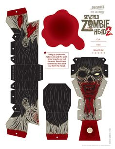 Blog_Paper_Toy_papercraft_Severed_Zombie_Head_2_Abz_template_preview