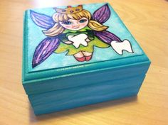 Tooth Fairy Box by WheeArt on Etsy https://www.etsy.com/listing/205325437/tooth-fairy-box