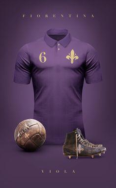 Vintage Football Shirts by Emilio Sansolini