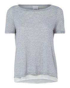 VERO MODA Shirt ´VMMARIE´ hellgrau