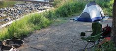 Slough Creek Campsite First come first served but great for fly fishing on river. Looks great!