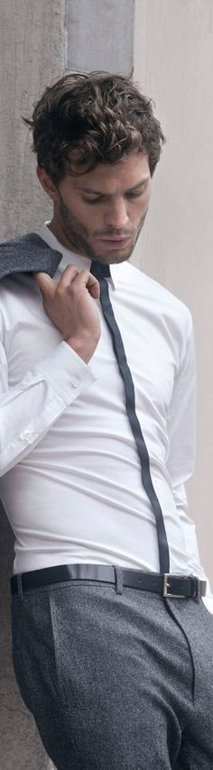Jamie Dornan has the perfect style for Christian Grey. | Fifty Shades of Grey | In Theaters Valentine's Day