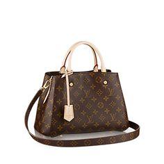 Montaigne BB Monogram Canvas - Handbags   LOUIS VUITTON