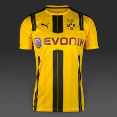 Borussia Dortmund 2016/17 Home Men Personalized Name and Number
