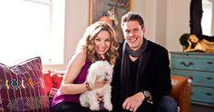 Sarah Joy y David Miller en su casa del distrito financiero (Foto: Greg Chow)