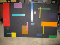 "Size: 37 1/2"" X 60"" X 7 1/4""   Title: TBD   Info: Painted on sides, Needs repair   Price: $ 2,000.00 or make an offer"