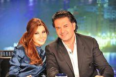 Nancy Ajram and Ragheb Alama The Judges of Arab Idol for Season 2