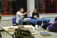 """#lettidinotte in @BMTCampobasso con Alessandra Salvatore che ci ha proposto """"Firmino"""", di Sam Savage."""