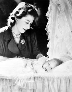 Prince Charles with his mother, Queen Elizabeth II, in See the full history of royal babies and their chubby cheeks. Prince Charles, Prince Philip, Prince Harry, Princess Anne, Princess Margaret, Queen 90th Birthday, Elisabeth, Royal Babies, British Monarchy