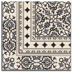 Płytki łazienkowe mozaika - Biało czarna kolekcja Orly
