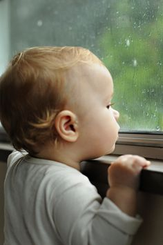 Just watching the raindrops <3