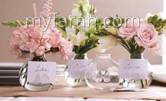 Be Seated Set of 4 Bud Vases/Place Card Holders in Gift Box - Hand-Blown Glass Wedding Favors, Wedding Gifts, Flower Places, Ocean Home Decor, Wedding Table Settings, Wedding Place Cards, Bud Vases, Inspirational Gifts, Hand Blown Glass