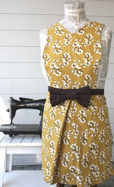 Jackie O Collection with fabric bow Gold by SugarSpiceandNutmeg, $30.00
