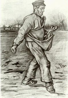 Vincent van Gogh: Sower, The  The Hague: early December, 1882 (Amsterdam, P. and N. de Boer Foundation)