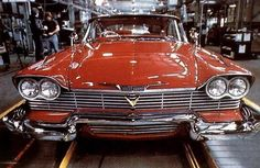 1958 Plymouth Fury Christine 32 Most Iconic Cars From Movies And TV Mustang, Stephen King Movies, Stephen Kings, Counting Cars, Plymouth Fury, Batmobile, Trucks, Great Movies, Hot Cars