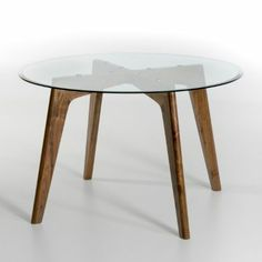 Pinterest the world s catalog of ideas - Table ronde verre trempe ...