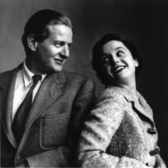 Modern before Modernism: Florence Knoll - Florence with her husband / business partner Hans Knoll