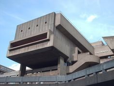 The Hayward, South Bank, London, opened 1968. Architects: Norman Engleback, Ron Herron, Warren Chalk, Alan Waterhouse and Dennis Crompton, Department of Architecture & Civic Design, Greater London Council.