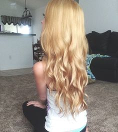 Going brunette to Blonde at home! long hair curly golden easy on a budget DIY Dying Hair Blonde, Going Blonde From Brunette, Blonde Hair At Home, Golden Blonde Hair, Brunette Hair, Dyed Hair, Dying Hair At Home, Bobbi Brown, Maybelline