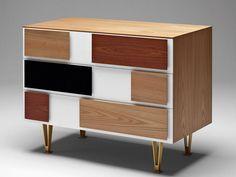 Gio Ponti small Drawer Unit designed 1952 - 1955 - http://www.atomicinteriors.co.uk/product/gio-ponti-drawer-units
