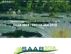Dynamic Website Design >>  SAAB 2018 Conference  www.saab2018.co.za  CREATED BY DESIGN SO FINE