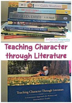 Growing character is a priority of raising our children. Teaching character and compassion with great literature is a positive way to develop these traits. #faith #homeschool #homeschooling #literature