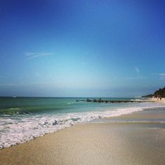 Naples Beach | One of the best beaches of my life.