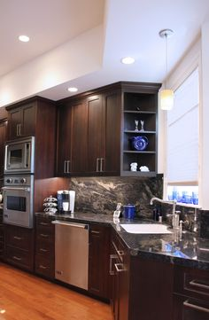 Obsessed With Granite/laminate, Especially With Dark Cabinets