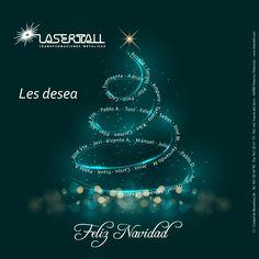 ¡Desde Lasertall queremos desearos una Feliz Navidad! Esperemos que disfrutéis de la familia y los amigos en estas fechas tan señaladas.  ¡Felices fiestas a todos!