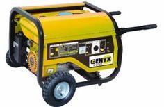 Genyx G3600R-2 Groupe électrogène de chantier puissance nominale/maximale 2500 W/3000 W