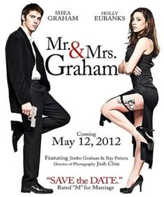 This needs to be my Save the Date!! So freaking clever!!
