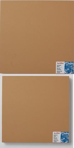 3 x 5 Inches Speedball 4383 Unmounted Linoleum Block Flat Surface Easy Carving For Block Printing Tan